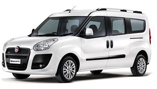A Fiat Doblo is a great car to hire for all the family